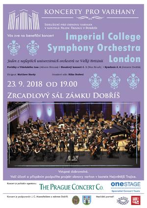 Benefiční koncert Imperial College Symphony Orchestra London